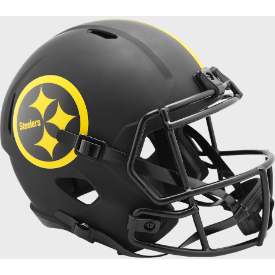 Pittsburgh Steelers Riddell Speed ECLIPSE Replica Full Size Football Helmet
