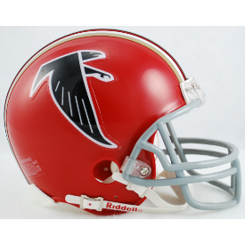 Atlanta Falcons Riddell VSR-4 Throwback 66-69 Mini Football Helmet