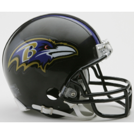 Baltimore Ravens Riddell VSR-4 Mini Football Helmet