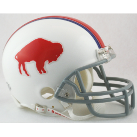 Buffalo Bills Riddell VSR-4 Throwback 65-73 Mini Football Helmet