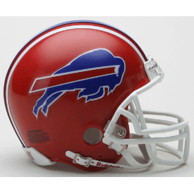 Buffalo Bills Riddell VSR-4 Throwback 87-01 Mini Football Helmet