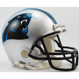 Carolina Panthers Riddell VSR-4 Mini Football Helmet