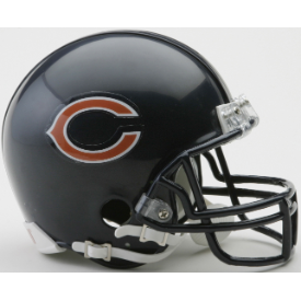 Chicago Bears Riddell VSR-4 Mini Football Helmet