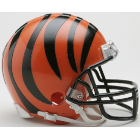 Cincinnati Bengals Riddell VSR-4 Mini Football Helmet