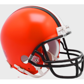 Cleveland Browns Riddell VSR-4 Mini Football Helmet