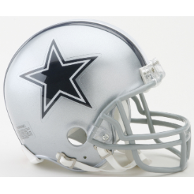 Dallas Cowboys Riddell VSR-4 Mini Football Helmet