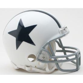 Dallas Cowboys Riddell VSR-4 Throwback 2004 Mini Football Helmet
