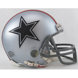 Dallas Cowboys Riddell VSR-4 Throwback 1976 Mini Football Helmet