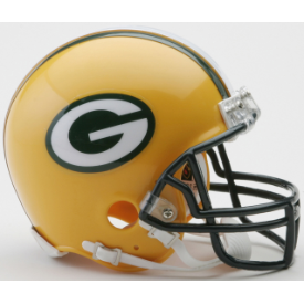 Green Bay Packers Riddell VSR-4 Mini Football Helmet