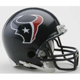 Houston Texans Riddell VSR-4 Mini Football Helmet