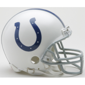 Indianapolis Colts Riddell VSR-4 Mini Football Helmet