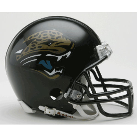 Jacksonville Jaguars Riddell VSR-4 Throwback 95-12 Mini Football Helmet