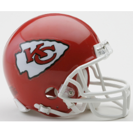 Kansas City Chiefs Riddell VSR-4 Mini Football Helmet