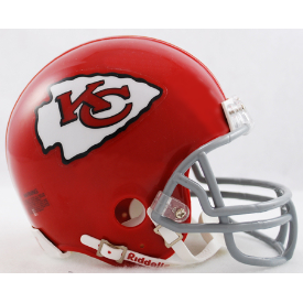 Kansas City Chiefs Riddell VSR-4 Throwback 63-73 Mini Football Helmet