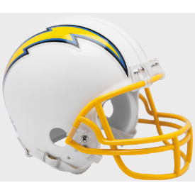 Los Angeles Chargers Riddell VSR-4 Throwback 19 Mini Football Helmet