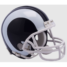 Los Angeles Rams Riddell VSR-4 Mini Football Helmet