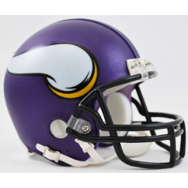 Minnesota Vikings Riddell VSR-4 Mini Football Helmet