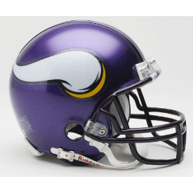 Minnesota Vikings Riddell VSR-4 Throwback 06-12 Mini Football Helmet