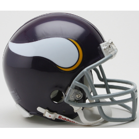 Minnesota Vikings Riddell VSR-4 Throwback 61-79 Mini Football Helmet