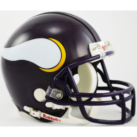 Minnesota Vikings Riddell VSR-4 Throwback 83-01 Mini Football Helmet
