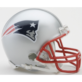 New England Patriots Riddell VSR-4 Mini Football Helmet