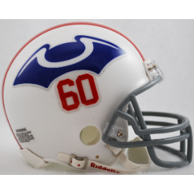 New England Patriots Riddell VSR-4 Throwback 1960 Mini Football Helmet
