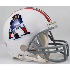 New England Patriots Riddell VSR-4 Throwback 65-81 Mini Football Helmet