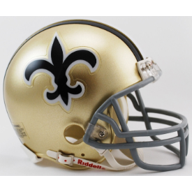 New Orleans Saints Riddell VSR-4 Throwback 67-75 Mini Football Helmet