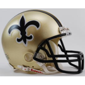 New Orleans Saints Riddell VSR-4 Throwback 76-99 Mini Football Helmet