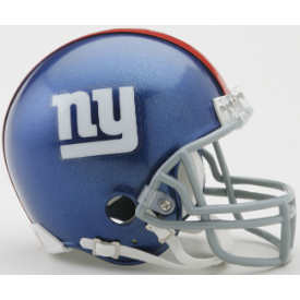 New York Giants Riddell VSR-4 Mini Football Helmet