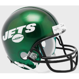 New York Jets Riddell VSR-4 Mini Football Helmet