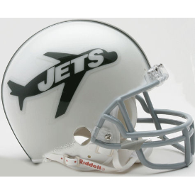 New York Jets Riddell VSR-4 Throwback 1963 Mini Football Helmet