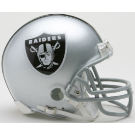 Las Vegas Raiders Riddell VSR-4 Mini Football Helmet