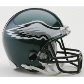 Philadelphia Eagles Riddell VSR-4 Mini Football Helmet
