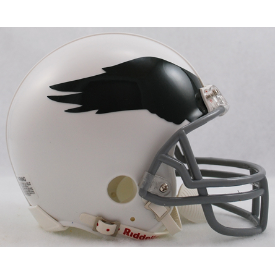 Philadelphia Eagles Riddell VSR-4 Throwback 69-73 Mini Football Helmet