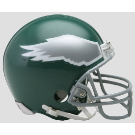 Philadelphia Eagles Riddell VSR-4 Throwback 74-95 Mini Football Helmet