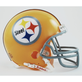 Pittsburgh Steelers Riddell VSR-4 Throwback 1962 Mini Football Helmet
