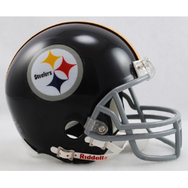 Pittsburgh Steelers Riddell VSR-4 Throwback 63-76 Mini Football Helmet