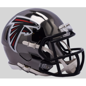 Atlanta Falcons CHROME Riddell Speed Mini Football Helmet