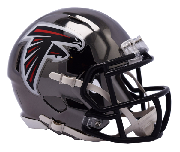 Atlanta Falcons CHROME Riddell Speed Replica Full Size Football Helmet  *** PRE ORDER ONLY***