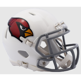 Arizona Cardinals 2016 Color Rush Riddell Speed Mini Football Helmet