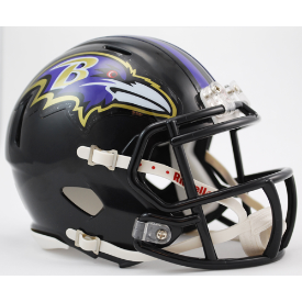 Baltimore Ravens Riddell Speed Mini Football Helmet