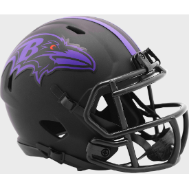 Baltimore Ravens Riddell Speed ECLIPSE Mini Football Helmet