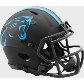 Carolina Panthers Riddell Speed ECLIPSE Mini Football Helmet