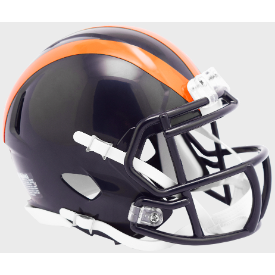 Chicago Bears 1936 Tribute Riddell Speed Mini Football Helmet