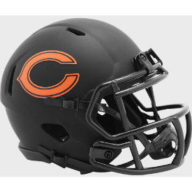 Chicago Bears Riddell Speed ECLIPSE Mini Football Helmet