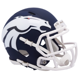 Denver Broncos Riddell Speed AMP Mini Football Helmet