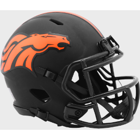 Denver Broncos Riddell Speed ECLIPSE Mini Football Helmet
