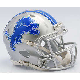 Detroit Lions Riddell Speed Mini Football Helmet