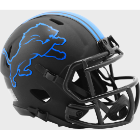 Detroit Lions Riddell Speed ECLIPSE Mini Football Helmet